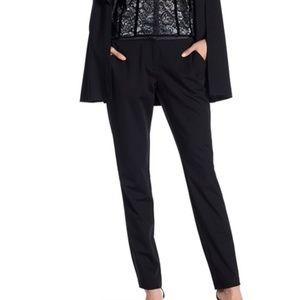 Laundry by Shelli Segal Black Tuxedo Pants Women 6